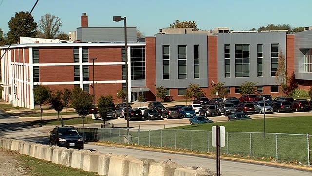 Hazelwood West High School. (Credit: KMOV)