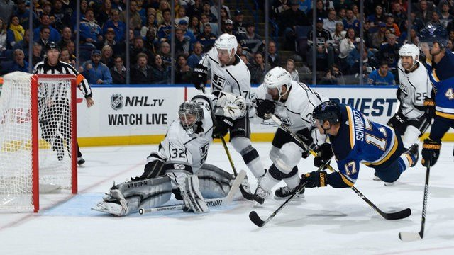 Louis Blues extend unbeaten streak with win over Los Angeles Kings