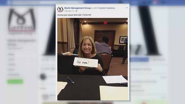 Martin Management posted a picture of Donna Hickey on their Facebook page. Credit: KMOV