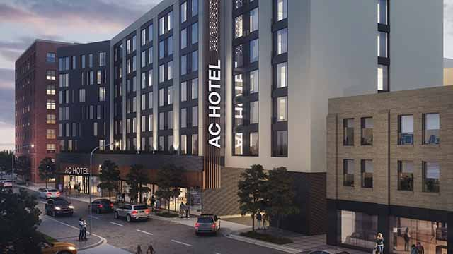 A proposal calls for an AC Hotel by Marriott to be built in the Central West End. Credit: KMOV