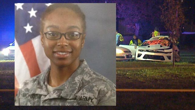 Tolighta Morrow was killed when her vehicle was hit in north St. Louis Wednesday night (Credit: Facebook / KMOV)
