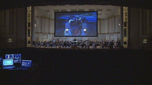 """The St. Louis Symphony to play """"Jurassic Park"""" in concert. (Credit: KMOV)"""