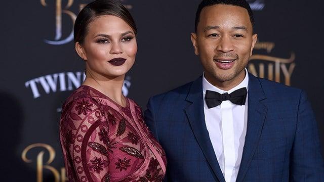 Chrissy Teigen and John Legend. (AP Photo)