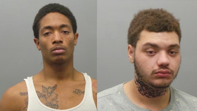 Darnell Rogers and Neiko Warren are accused of robbery (Credit: St. Louis County Police)