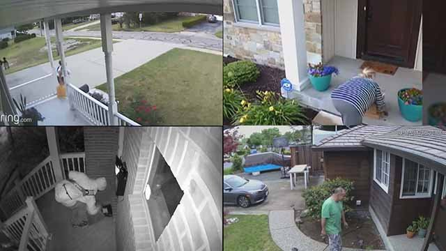 Porch pirates. Credit: KMOV