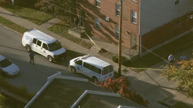Investigators in the 4700 block of North 20th Street after a man was shot Wednesday morning (Credit: KMOV)