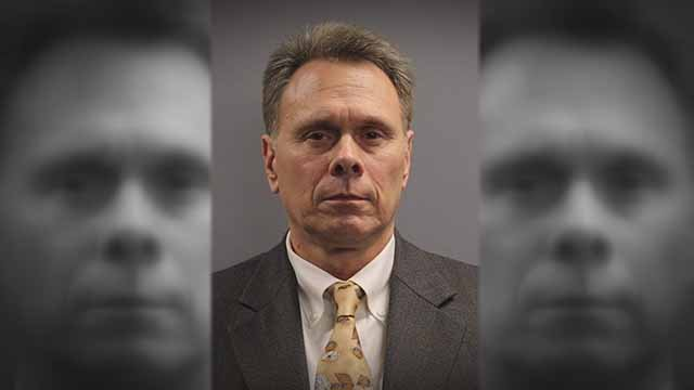 St. Clair County Circuit Judge Ronald Duebbert, 55, is charged with solicitation of a sexual act, battery, criminal sexual abuse and intimidation. Credit: St. Clair County Jail