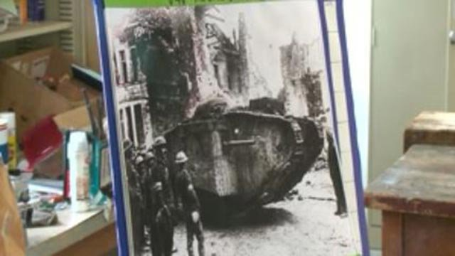 Art created as part of Visions for Vets (Credit: KMOV)
