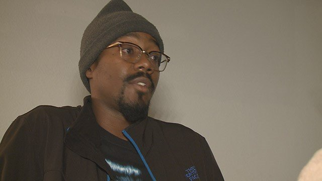 Larry Quinn owns the dogs that attacked a Woodson Terrace officer Saturday (Credit: KMOV)