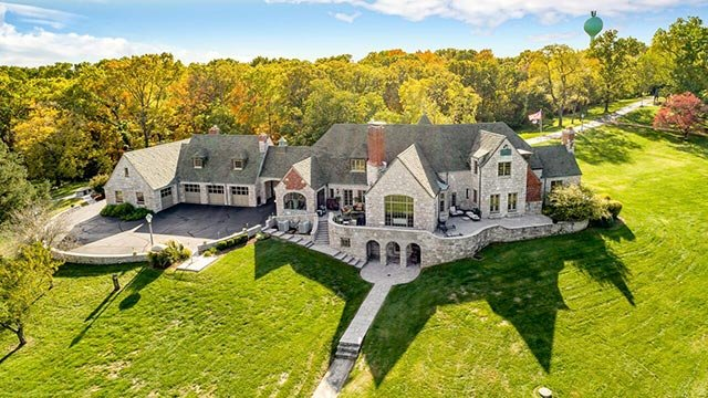 Outside of the Castle of Montebello in Imperial (Credit: Dielmann Sotheby's International Realty)