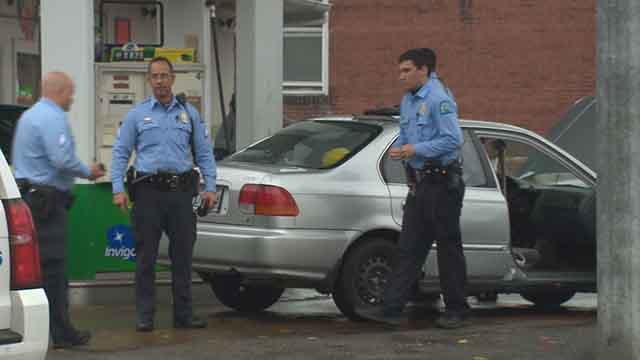 St. Louis Metropolitan Police Department is investigating a robbery that occurred in north St. Louis. (Credit: KMOV)