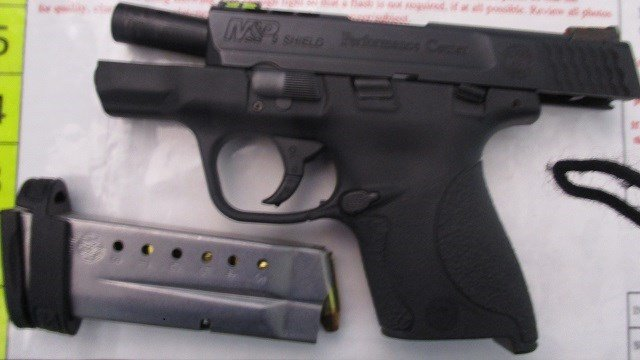 A Southwest Airlines pilot was arrested after TSA officers found a loaded 9mm pistol in his carry-on. (Credit:Southwest)