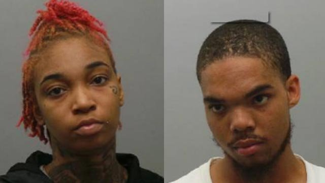 Jherrica Dixon & Floyd Barber are charged in connection with the shooting death of Jaz Granderson (Credit: Officials)