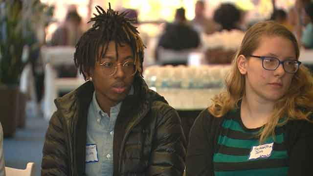 High school students from all across the St. Louis area gathered to create a better tomorrow. (Credit: KMOV)