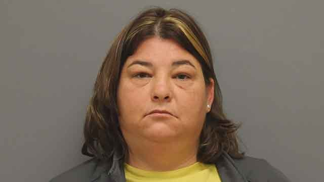 37-year old Amy Bacon was charged with involuntary manslaughter after the overdose death of her husband,(Credit: Washington, MO Police Department)