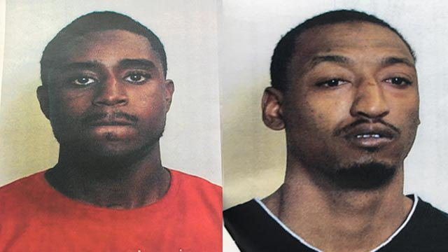 Dominic Harris & Eric Mason Jr. are accused of first-degree murder in the death of Robert Gilmore (Credit: Police)