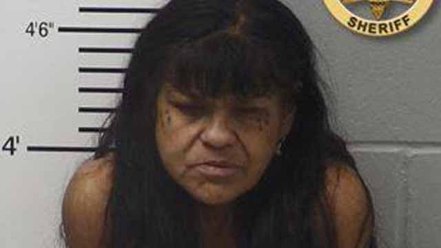 Irene Arias is charged with child neglect. (Credit: Lincoln County Police)