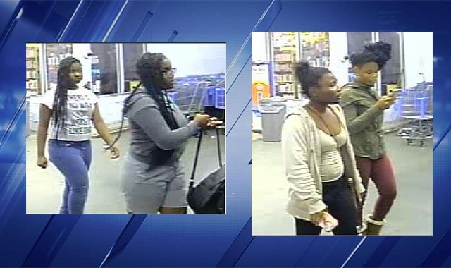 Persons of interest in Affton burglary. (Credit: St. Louis County Police)