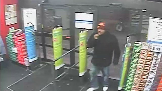 The Collinsville Police Department is searching for a suspect in connection with an armed robbery that took place at Walgreens. (Credit: Collinsville Police Department)