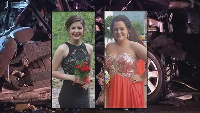 All activities at a high school in Staunton, Ill. have been cancelled Wednesday as residents in the community mourn the loss of two young sisters killed in a deadly I-55 crash. (Credit: KMOV)