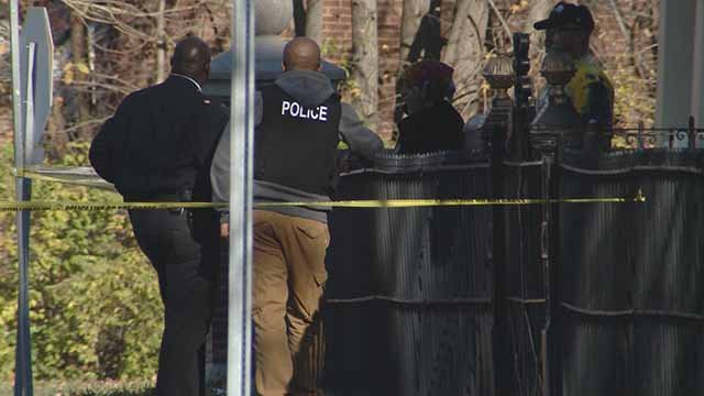 Police said an officer shot 2 suspects in the College Hill neighborhood Thursday afternoon. Credit: KMOV