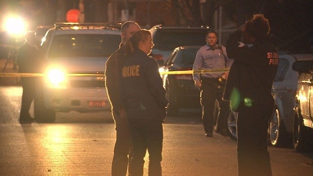 Homicide detectives are investigating a triple shooting that occurred in South City Friday.(Credit:KMOV)