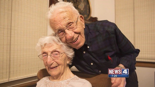 John Betar, 106, and Ann Betar, 102 just celebrated their 85th wedding anniversary. (Credit: CBS)