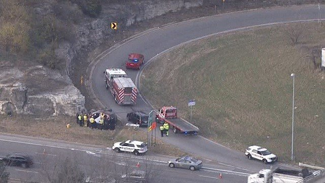 A deadly accident on I-44 on Monday afternoon (KMOV)
