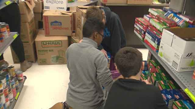 Students of one of St. Louis's largest school districts are working to ease hunger among their own classmates. (Credit: KMOV)