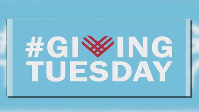 November 28 is the officially declared as Giving Tuesday. (Credit: KMOV)