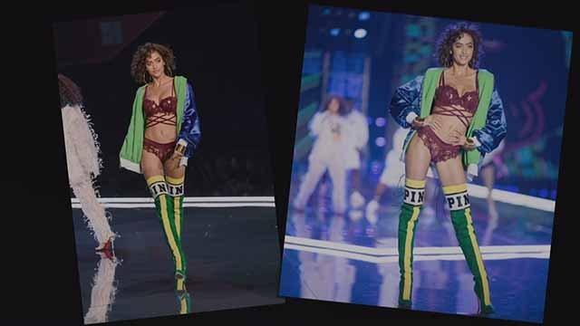 In 2017, Alanna Arrington walked in the Victoria Secret Fashion Show for the second time. Jeff and Mary discovered her in Cedar Rapids, Iowa.. Credit: KMOV