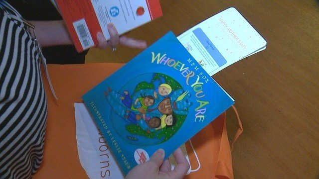 A local non-profit, Books for Newborns, brings bags of books to parents with babies in the Neo-Natal Intensive Care Unit or NICU. (Credit: KMOV)