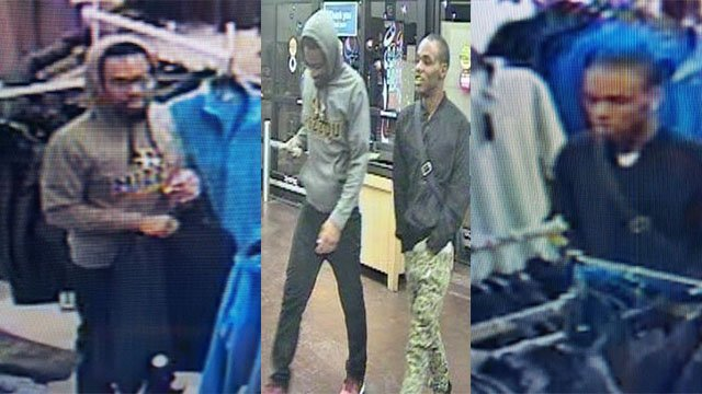 Chesterfield Police is asking for the public's help in identifying two suspects that were involved in a robbery that took place at Macy's. (Credit: Chesterfield Police Department)
