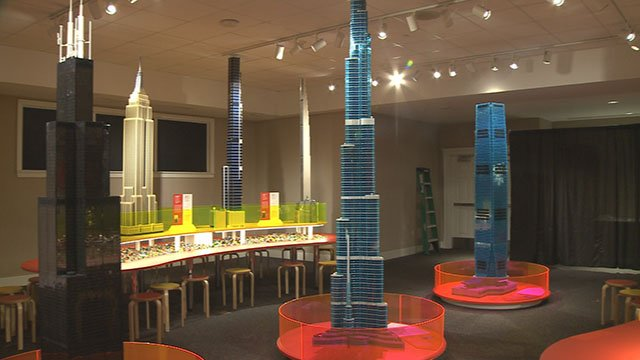 A new exhibit at the Magic House is taking Legos to new level! (Credit: KMOV)