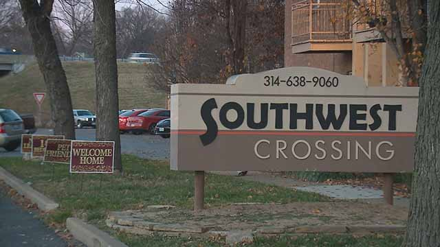 Southwest Crossing Apartments. Credit: KMOV