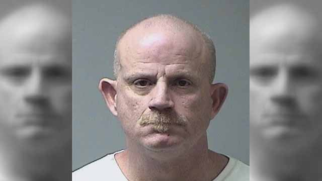 David Colona is accused of threatening his former co-workers and police officer. Credit: St. Charles County Jail