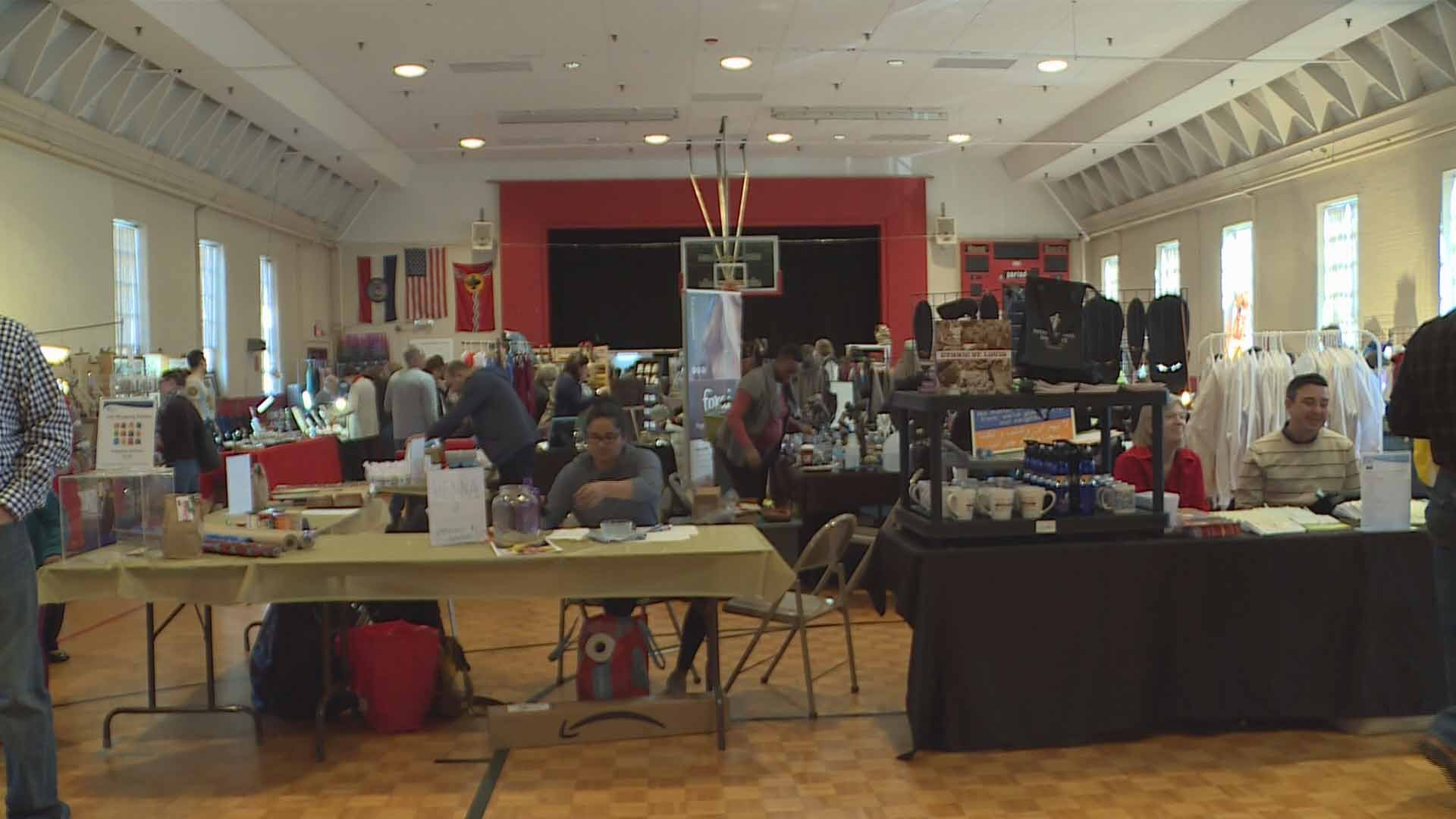 The International Institute of St. Louis hosts their 3rd annual Holiday Bazaar. Credit: KMOV