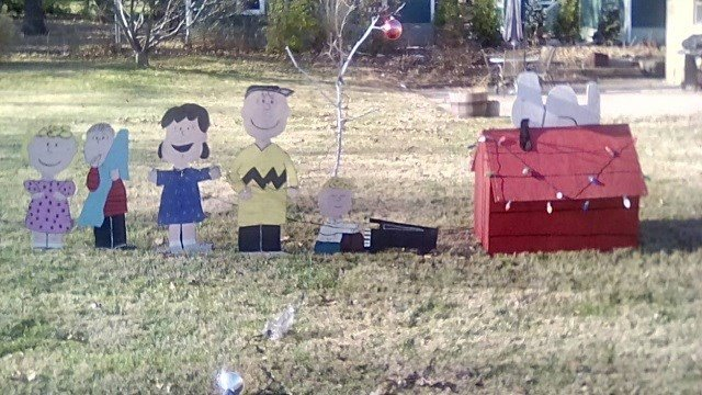 Photo of the missing Christmas display