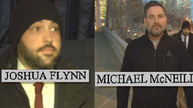 """Michael McNeil known as """"Mr. White"""" and Joshua Flynn known as """"Mr. Pink"""" recently pleaded guilty to their roles in the conspiracy. Credit: KMOV"""