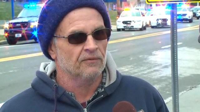 Steven Jones witnessed Thursday's shooting. (KMOV)