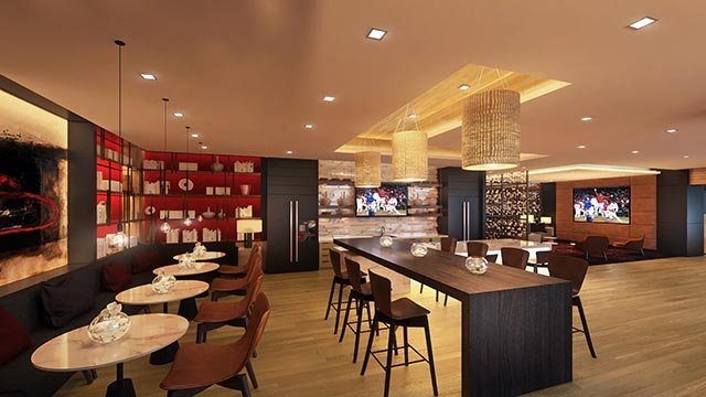 Rendering of kitchen inside One Cardinal Way (Credit: St. Louis Cardinals)