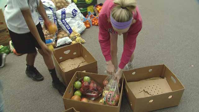 Fresh Fruit and Veggie Collection Challenge. Credit: KMOV