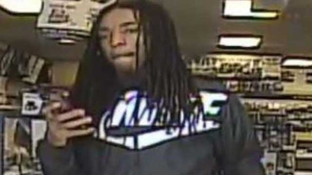 A man wanted in connection with an armed robbery at a Creve Coeur gas station (Creve Coeur PD)