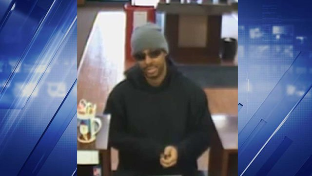 A man robbed the First Bank located at Lindbergh and Old Halls Ferry Monday afternoon, police said. Credit: KMOV