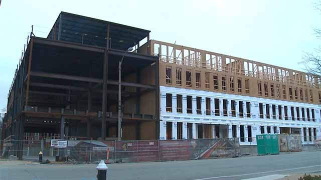 Housing under construction. Credit: KMOV