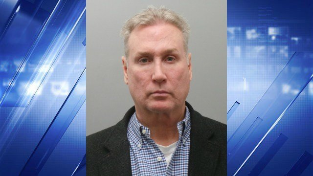 John Simpson, 53, was arrested Friday on DWI charges. (Credit: St. Louis County Police Department)