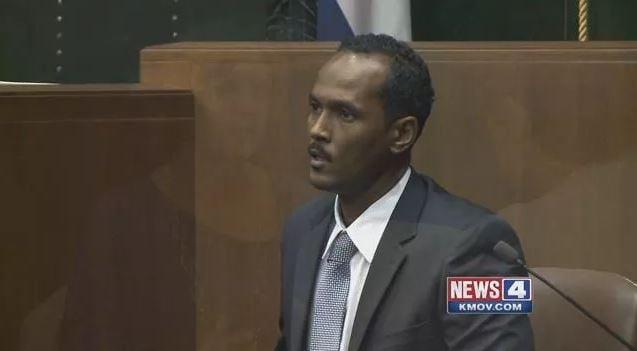 Reginald Clemons in a prior court proceeding.  (Credit: KMOV)
