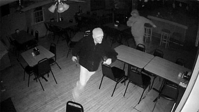 The suspects burglarized the Route 3 bar on Dec. 10 (Credit: Monroe County Sheriff's Department)