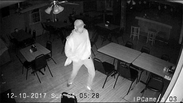 3 suspects were caught on camera burglarizing the Route 3 bar on Dec. 10 (Credit: Monroe County Sheriff's Department)