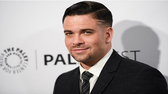 "Mark Salling arrives at the 32nd annual Paleyfest ""Glee"" held at The Dolby Theatre in Los Angeles on March 13, 2015 (Credit:Richard Shotwell/Invision/AP, File)"